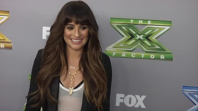 News video: Lea Michele Would Like Demi Lovato's X Factor Gig